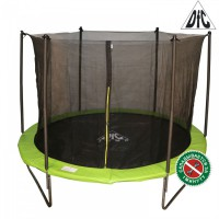 Батут для улицы DFC JUMP 8ft складной, c сеткой, цвет apple green 8FT-TR-EAG роспитспорт - Спортивный интернет магазин СП-Урал
